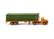 Letzter Eckhauber mit Container-Fracht nach Moskau unterwegs